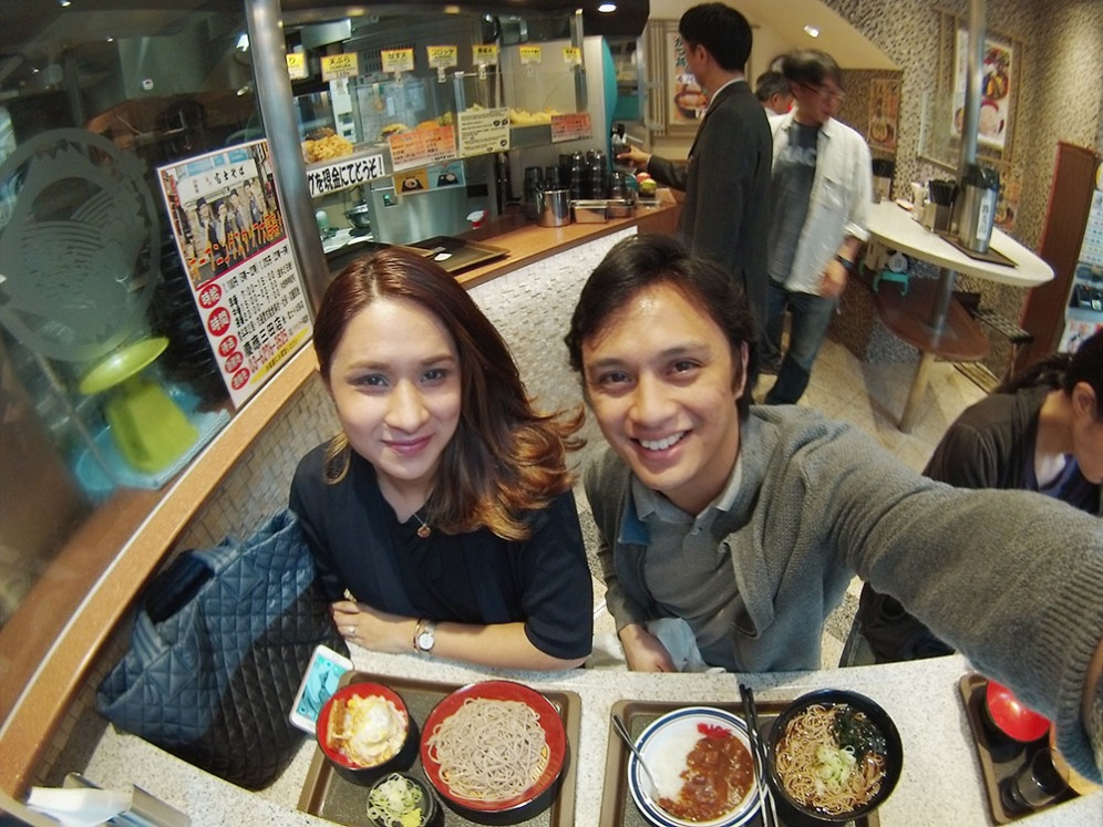 Tokyo: Vendo Restaurant - Jon and Chrina